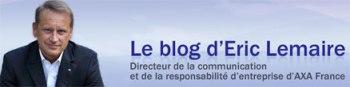 le blog d'Eric Lemaire