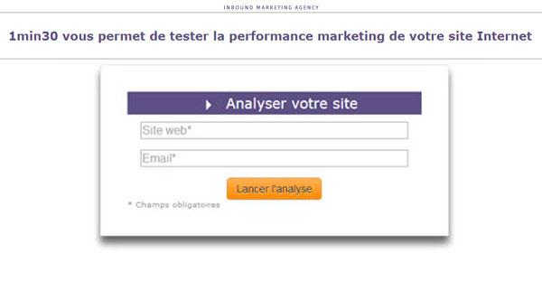 testez la performance de votre site