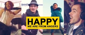 we are happy from Angers