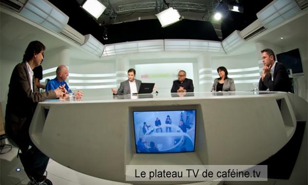 plateau TV caféine.tv